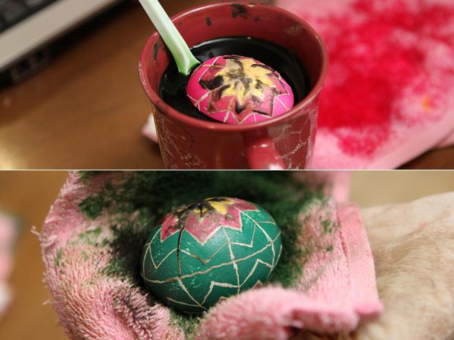 Мастер-класс по росписи пасхальных яиц