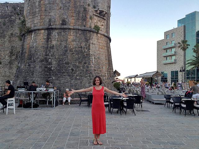 Эрика отдохнула в Черногории