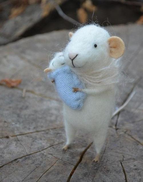 Няшные мышки от Johana Molina