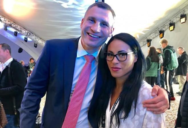 Владимир Кличко и Сессилия
