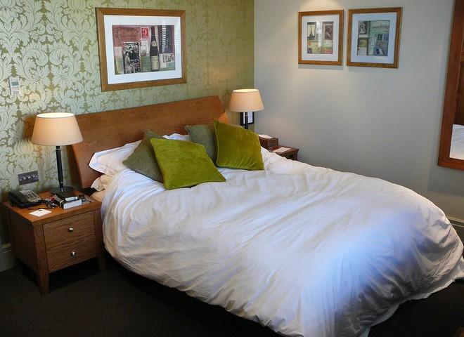 Цвет спальни повысит сексуальную активность