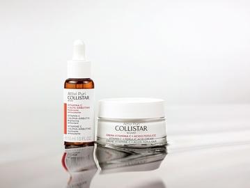 Лінія доглядальних засобів бренда Collistar Vitamin C Pure Actives