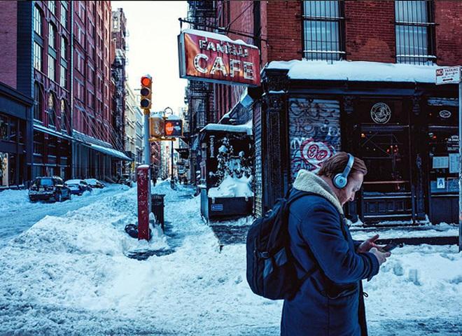 Нью-Йорк в снігу: приголомшливі фотографії, що нагадують картини імпресіоністів