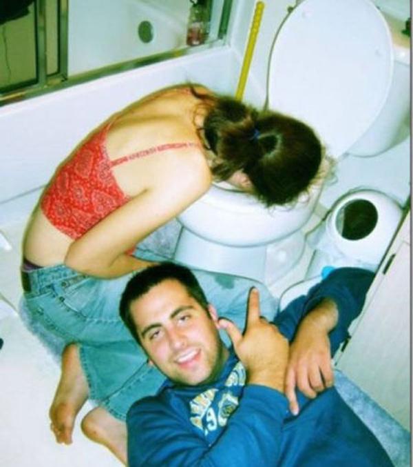 Туалет - лучшее место для сна