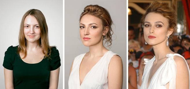 Как с помощью макияжа можно сделать из обычных людей звезд