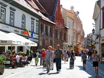 Достопримечательности Вильнюса: Замковая улица