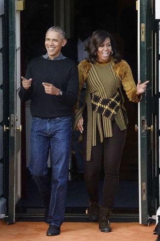 Уходи красиво: Мишель Обама стала иконой стиля 2016 года