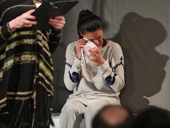 Маша Єфросиніна розплакалася на сцені