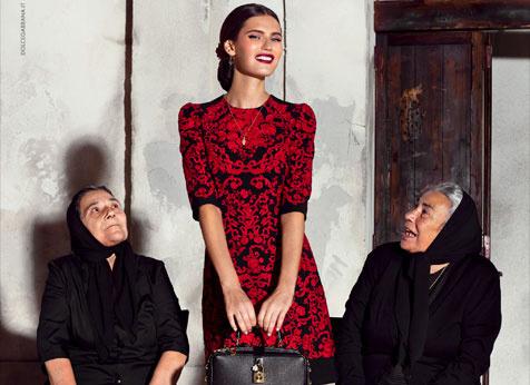 Dolce&Gabbana рекламная кампания