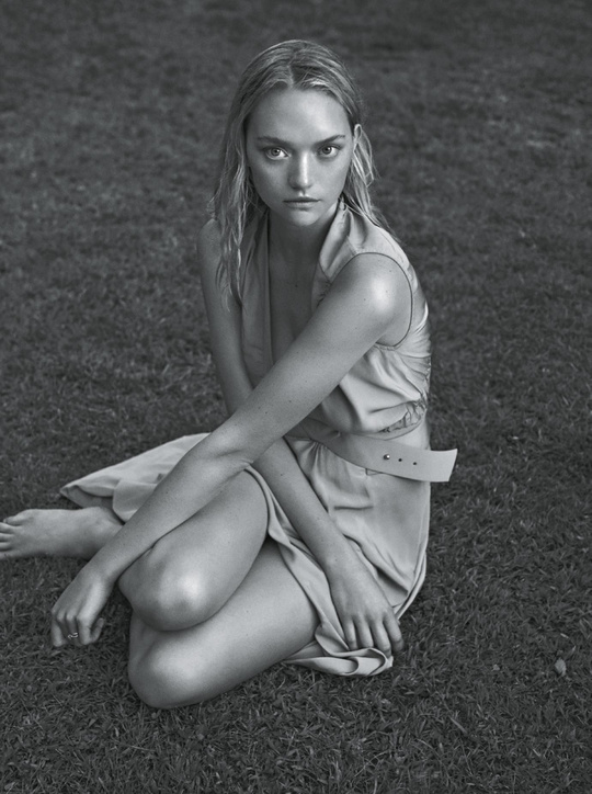 Джемма Уорд на обложке Vogue Australia