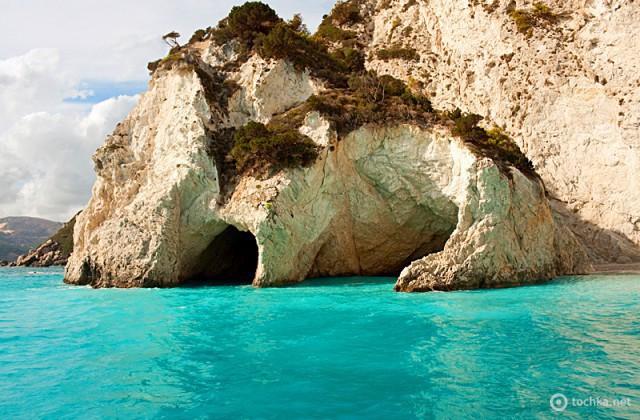Блакитні печери Закінфу
