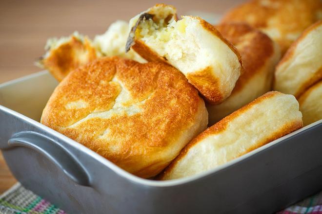 Пирожки жареные: лучший рецепт