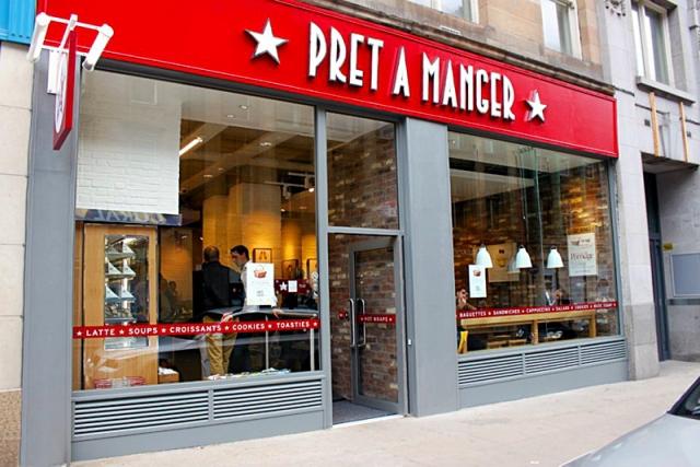 Лондон за два дня: Pret-a-manger