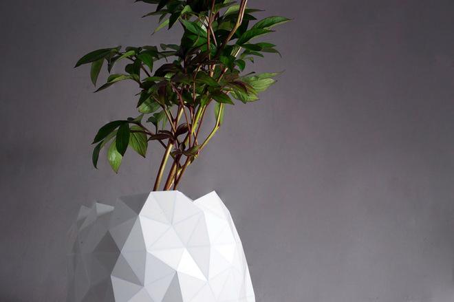 Растущий горшок-оригами