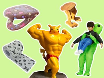 Смешные и необычные товары на 1 апреля