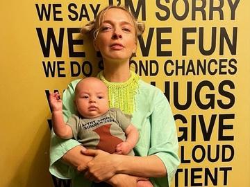 Василиса Фролова с сыном