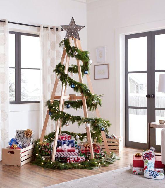 ТОП-5 стильных альтернатив новогодней елке