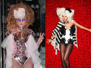 Леди Гага копирует Камалию