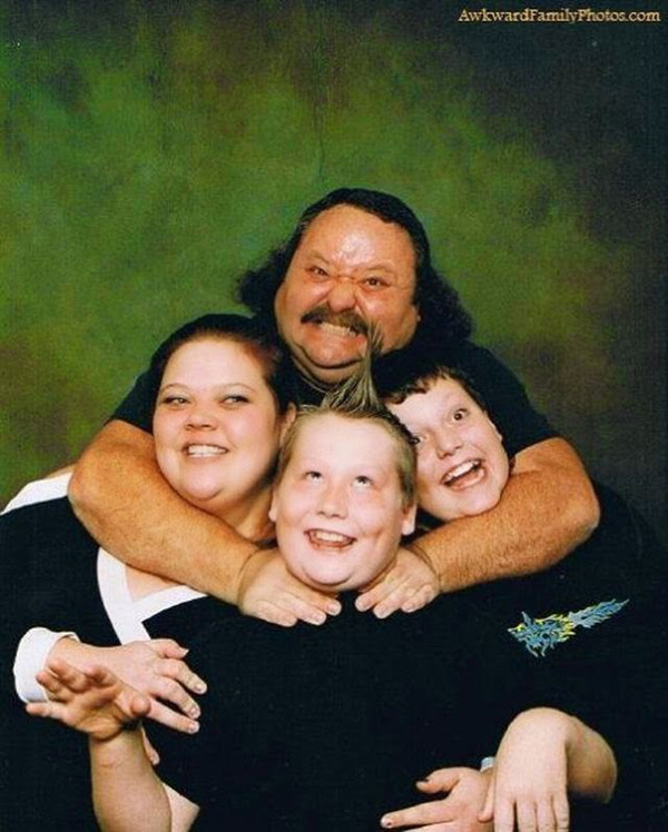 Шедевральные фото из семейных архивов