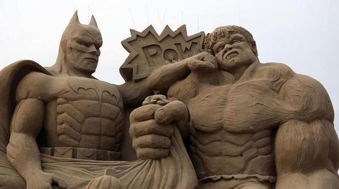 Невероятные скульптуры из песка на ежегодном Уэстонском фестивале