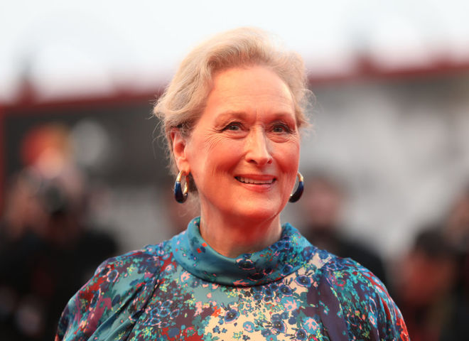 Мерил Стрип на Венецианском кинофестивале 2019