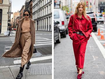 Цветные джинсы осень 2020