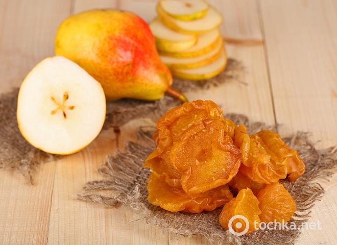 Любителям компотов: как сушить груши в духовке