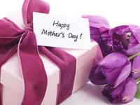 Яркая открытка ко дню матери