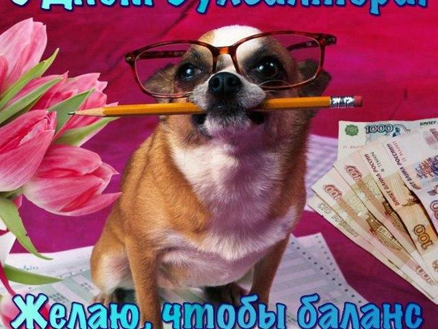 Прикольные поздравление день рождения бухгалтер 847