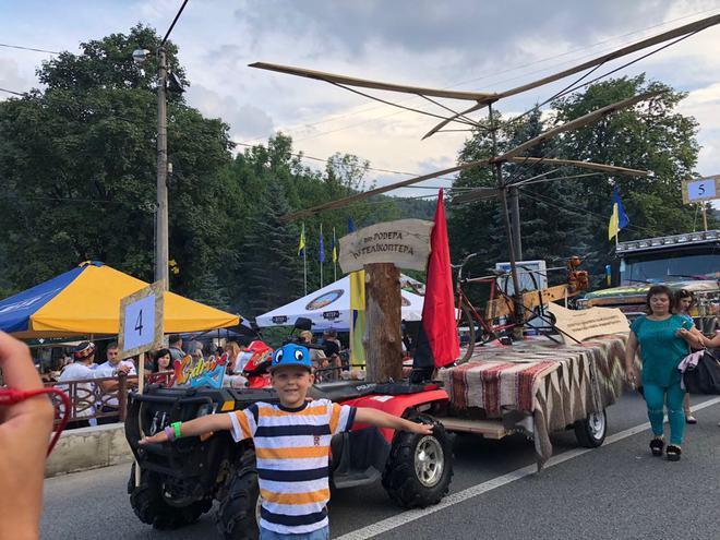 Перший відкритий Гуцульський карнавал
