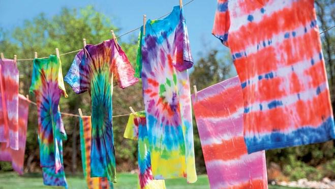 Тренд лета 2016: tie-dye