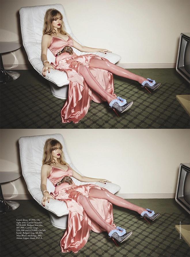 """Как же красиво: Аманда Сейфрид в кукольной фотосессии для """"Библии моды"""""""