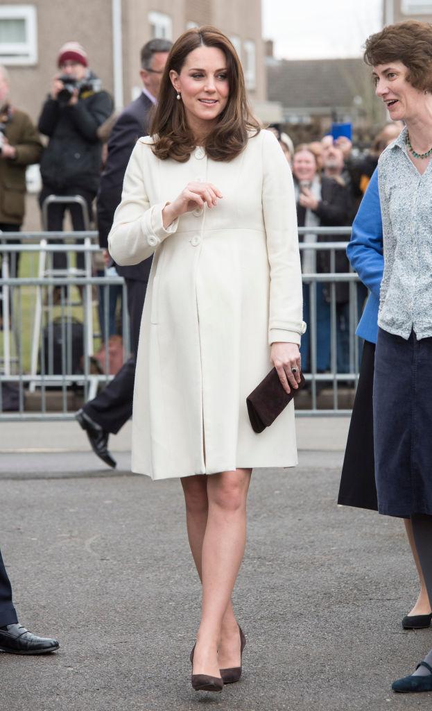 Кращі образи вагітної Кейт Міддлтон
