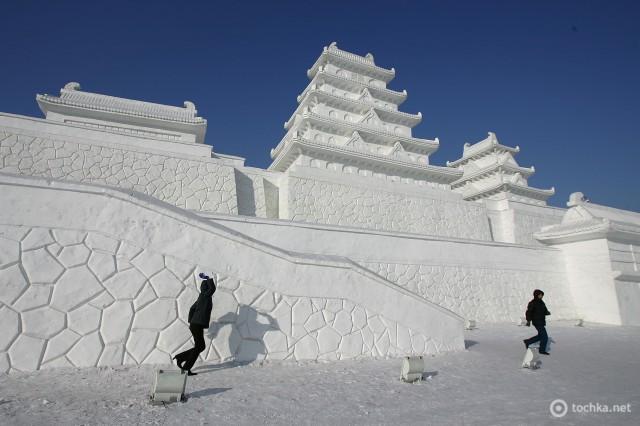Фестиваль льда и снега в городе Харбин