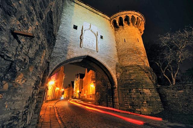 Достопримечательности Таллинна: Большие Морские ворота