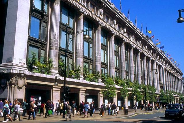Лондон за два дня: универмаг Selfridges