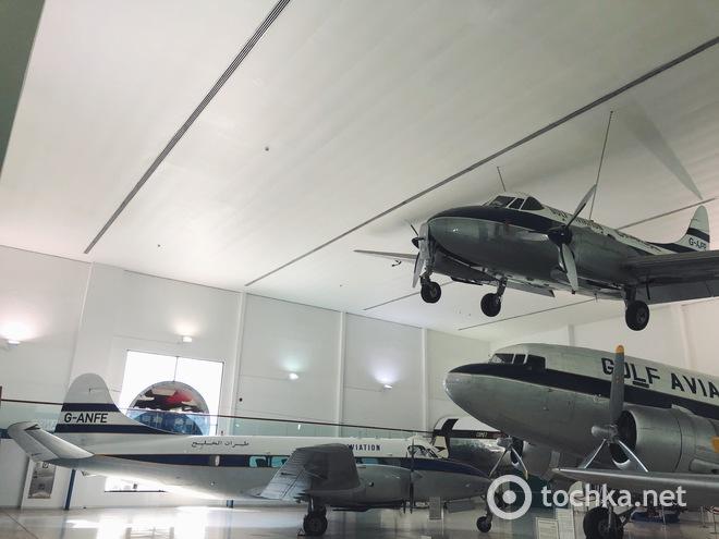 Шарджа: Музей авиации
