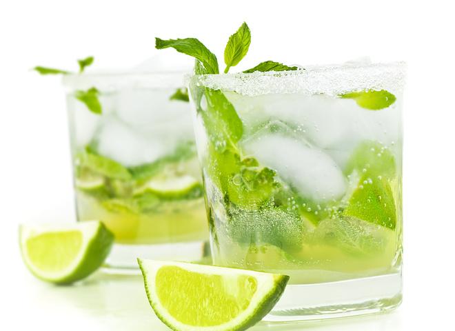 как приготовить лимонад с мятой и с лаймой