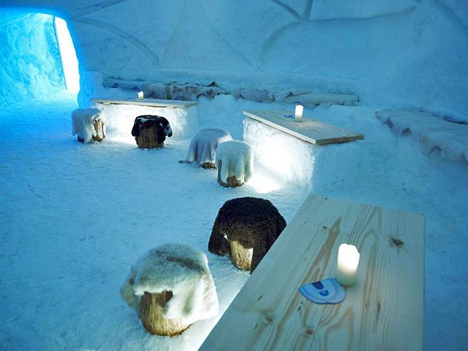 Кращі готелі з льоду та снігу