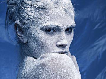 Сухая кожа лица от зимнего мороза