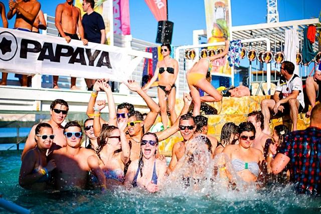 Кращі тусовочні курорти Хорватії: Курорт Новаль, Papaya club