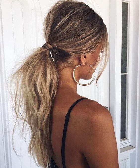 Зачіски без укладання
