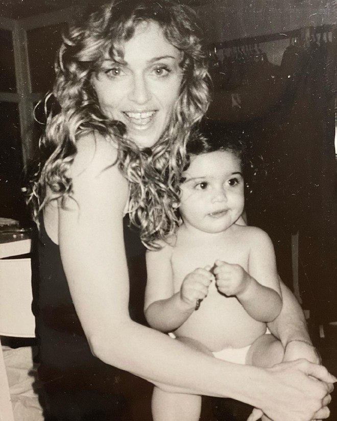 Мадонна с дочерью Лудрес
