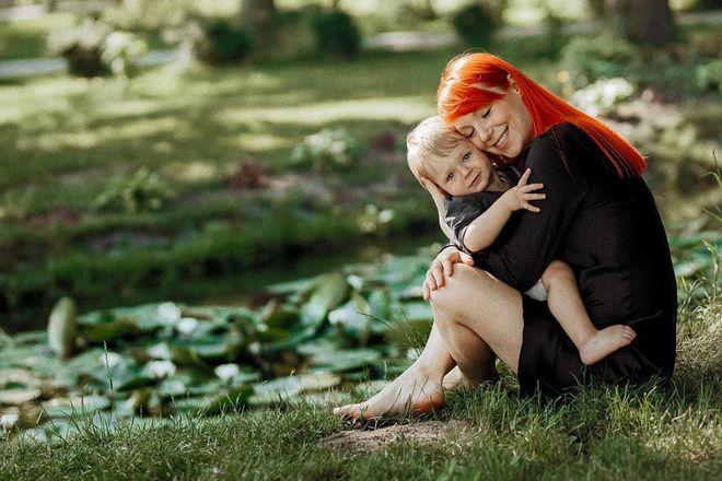 Светлана Тарабарова с сыном