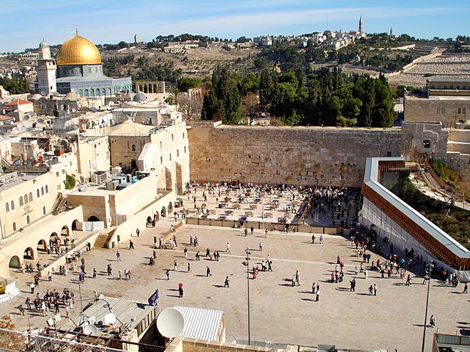 Цікаві місця Єрусалиму: Стіна Плачу