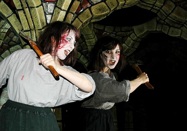 Родина Хэллоуина: путешествие в Шотландию и Ирландию - Эдинбургское подземелье