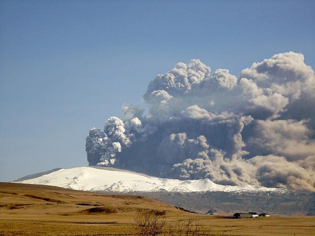 Вороги мандрівника: Вулкан Ейяфьятлайокудль