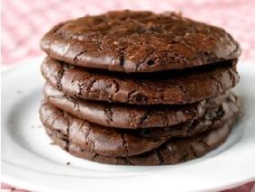 Печеньки по мотивав пирожных брауни