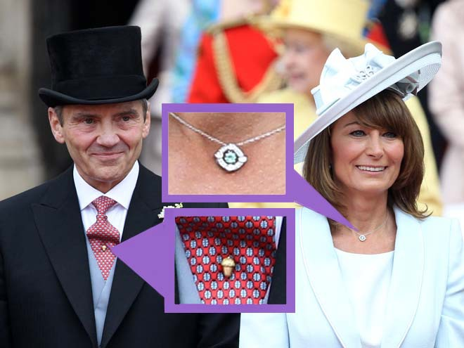Аксессуары на королевской свадьбе
