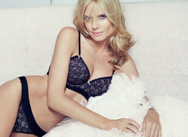 Хайди Клум в лукбуке Heidi Klum Intimates
